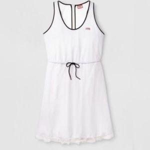 Hunter for Target White Mesh Dress
